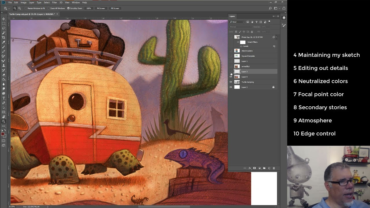 Top 10 Lessons I Learned to Create Children's Book illustrations!