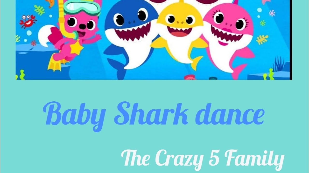 Baby Shark dance 🦈- The Crazy 5 Family - YouTube