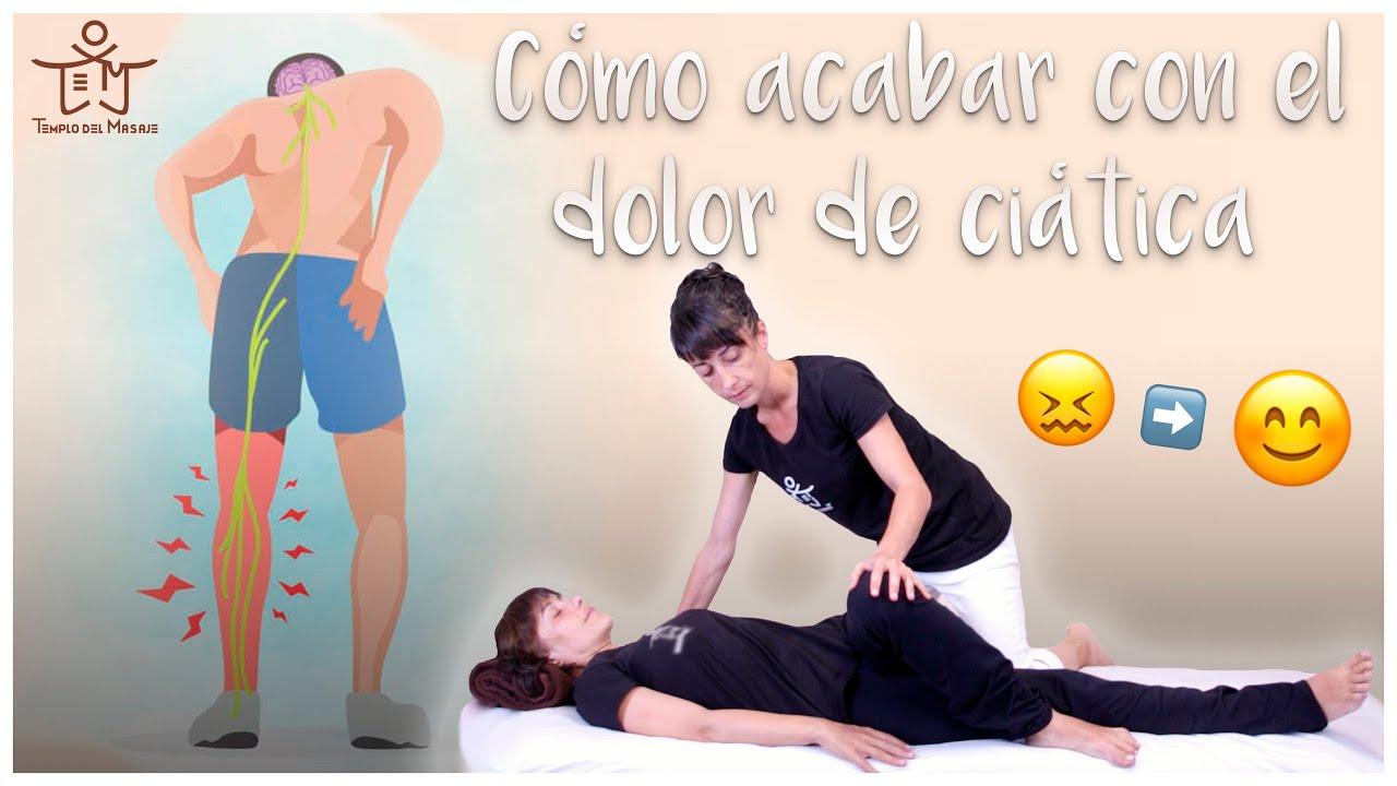 ejercicio para el dolor de ciática