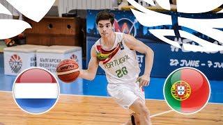 LIVE 🔴 - Netherlands v Portugal - Class. Game 9-16 - FIBA U20 European Championship Division B 2018
