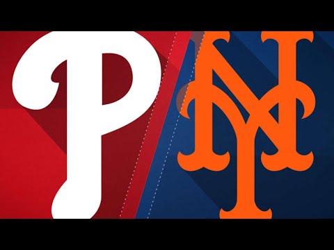 Harvey, Mets blank Phillies at home, 2-0: 4/3/18