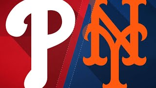Harvey, Mets blank Phillies at home, 2-0: 4/3/18