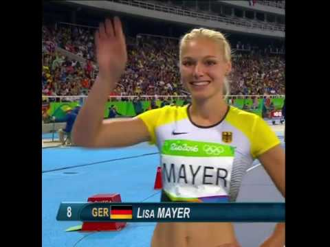 German Olympian Lisa Mayer is SOOO HOT!
