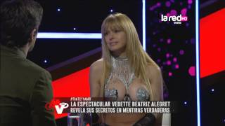 Beatriz Alegret recuerda sus inicios como vedette
