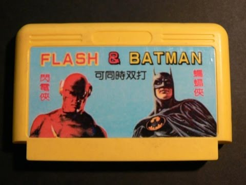 NES-Longplay-Batman & Flash HD (Unlicensed) (U)