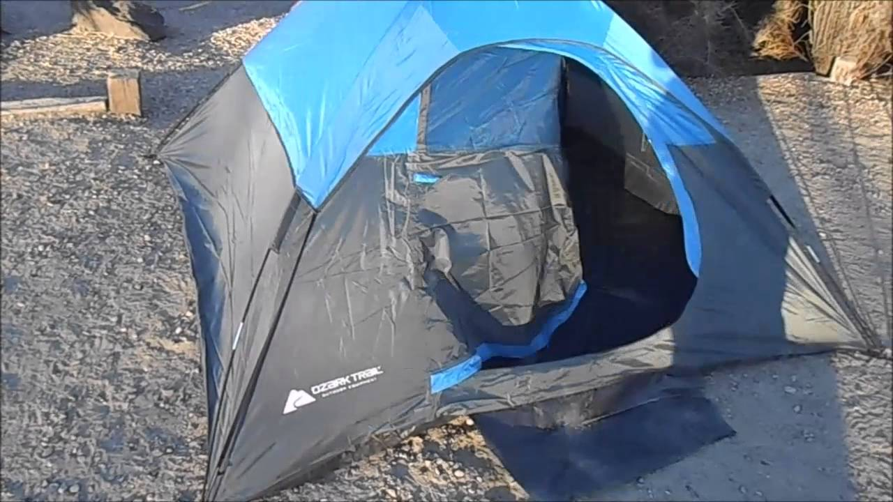 Budget Backpacking Tent Review- Ozark Trails / Walmart Tent
