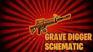 "(PATCHED) *NEW* HOW TO GET THE ""GRAVE DIGGER"" SCHEMATIC IN FORTNITE: SAVE THE WORLD!"
