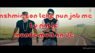 patola Guru Randhawa ft bohemia  lyrical video