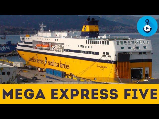 Mega Express Five, scopri gli interni del traghetto