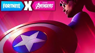 FORTNITE X AVENGERS CAPTAIN AMERICA LTM EVENT! AVENGERS END GAME SKINS in Fortnite!