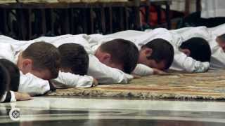 Future priests embrace celibacy