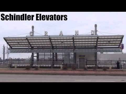 Busted! Schindler Hydraulic Elevators @ Grand Metrolink Station - St. Louis, MO