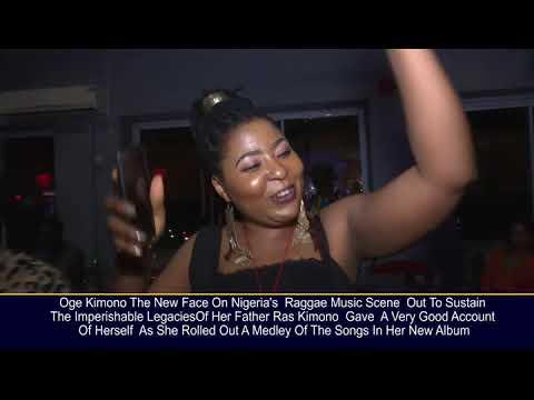 Download RAS KIMONO'S DAUGHTER OGE KIMONO STORMS LAGOS FOR HER ALBUM TOUR