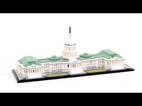 Super Smooth lego speed build - Architecture set 21030 United States Capitol Building