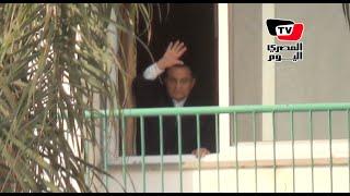 مبارك يحيى أنصاره المجتمعين أمام مستشفى المعادي فى ذكرى تحرير سيناء (صور وفيديو) | المصري اليوم