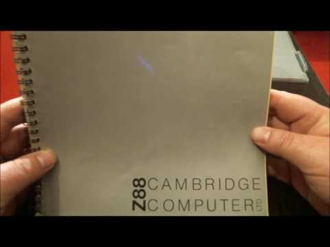 Cambridge Z88 Computer - Unboxing and first look