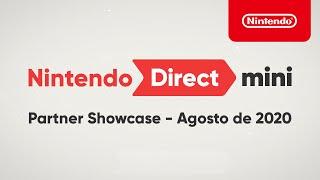Nintendo Direct Mini: Partner Showcase - Agosto de 2020