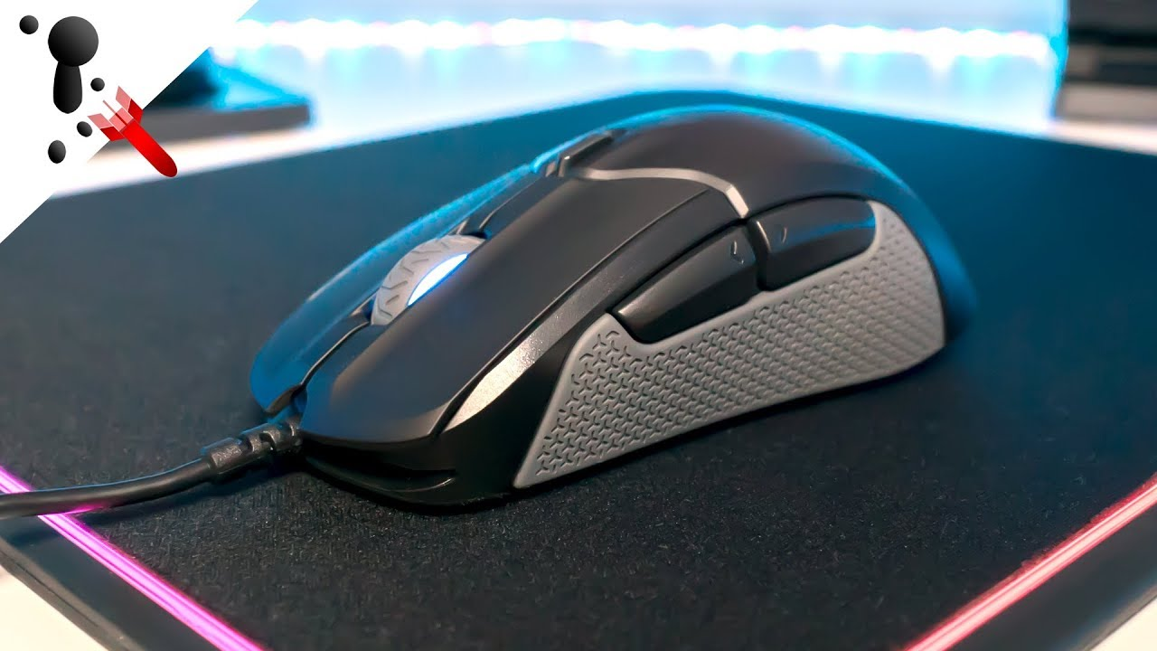 32a1b694915 SteelSeries Rival 310 Review (Large, Optical, 92g, Omron Mech) - YouTube