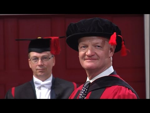 Rt Hon Lord David Willetts - Honorary Degree - University of Leicester