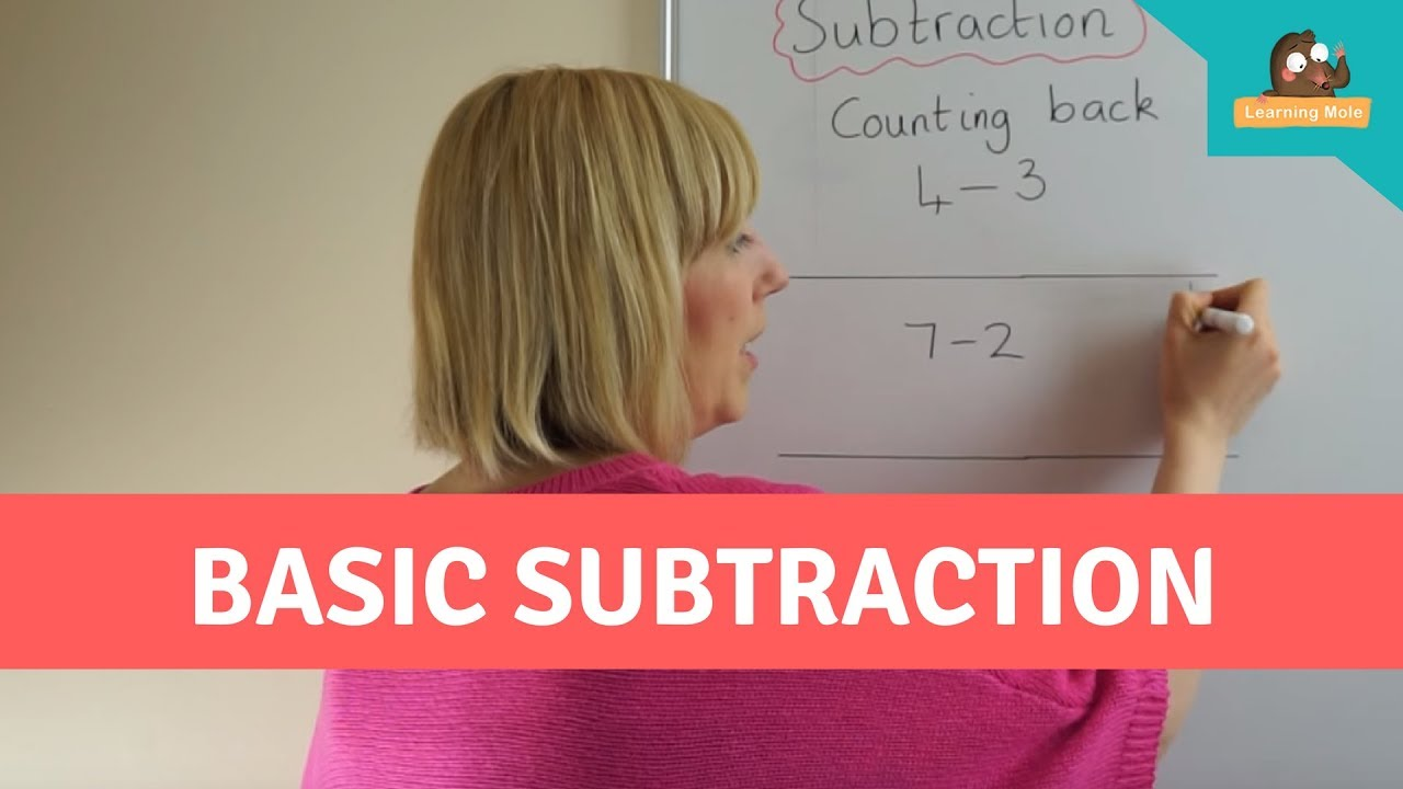 Mental Math for Kids - Basic Subtraction - Counting Back - Mental ...