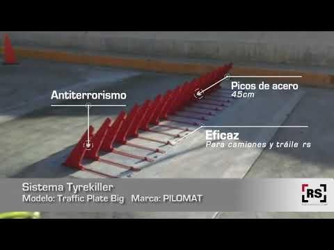 PILOMAT Traffic Plate Big   RSeguridad
