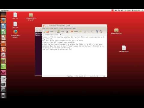 Как запустить jar файл linux