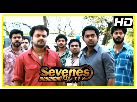 Malayalam Movie | Sevenes Malayalam Movie | Sevenes Arrested by Nadiya | 1080P HD