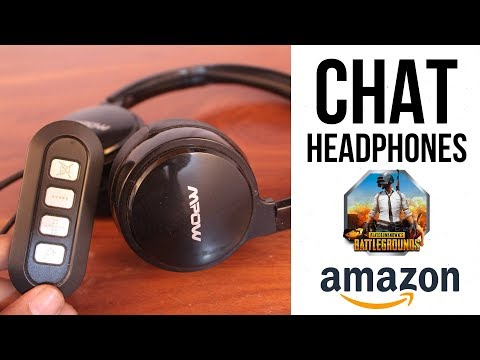 Mpow Computer HEADPHONES   Chat Headset For PUBG Gaming   Unboxing & Review In Hindi