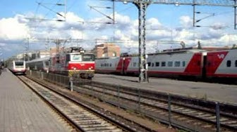 Oulu Railway Station - Oulun Rautatieasema - Stacja Oulu