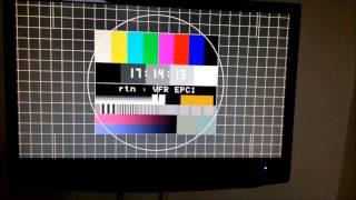 VESA wall mount tv test