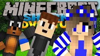 Minecraft Adventure - Sharky and Scuba Steve - CAMPING TRIP w/ Donut The Dog & Little Carly