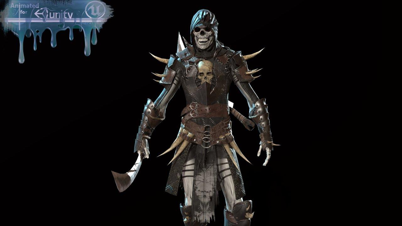 Skeleton3 Unreal