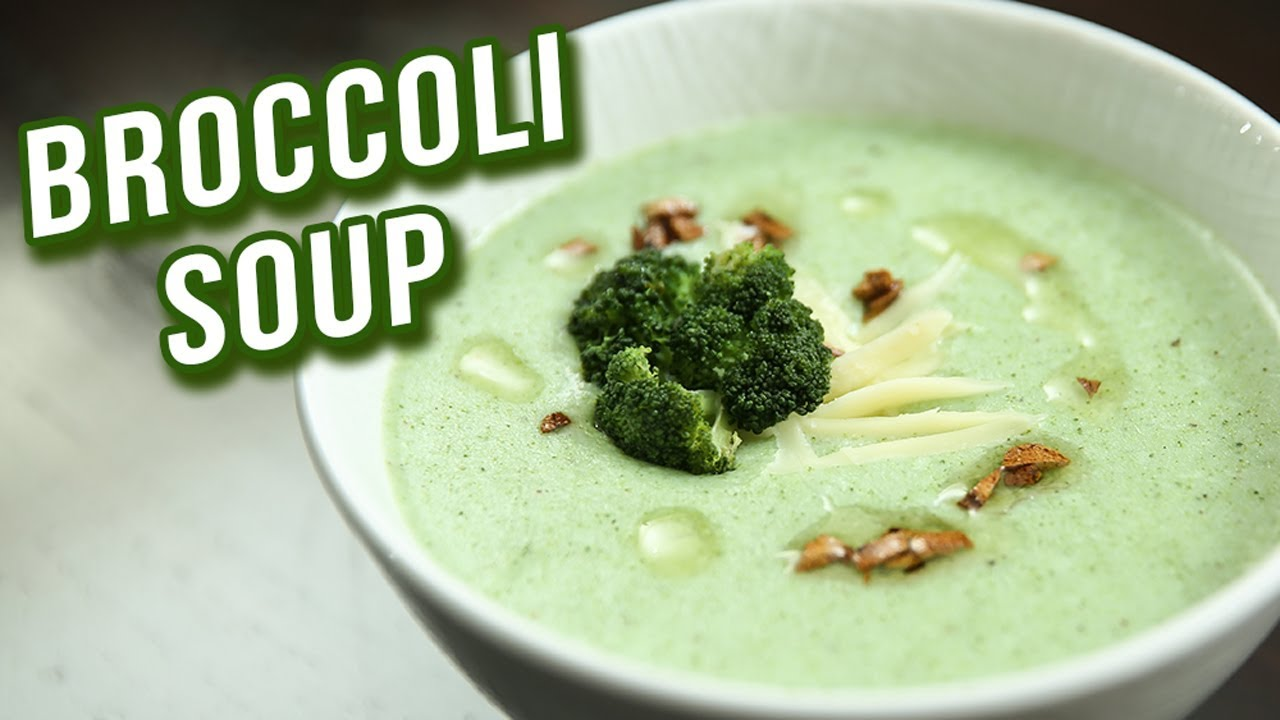 Broccoli Soup Recipe How To Make Healthy Broccoli Soup At Home