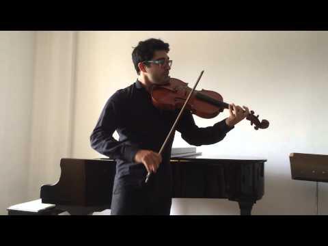 Bach Cello Suit 5 Gigue Viola