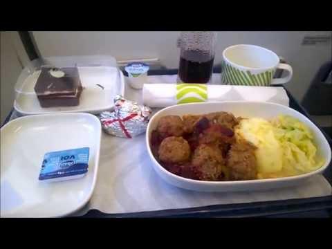 Finnair A319 Oslo/Gardermoen-Helsinki/Vantaa. Business Class.