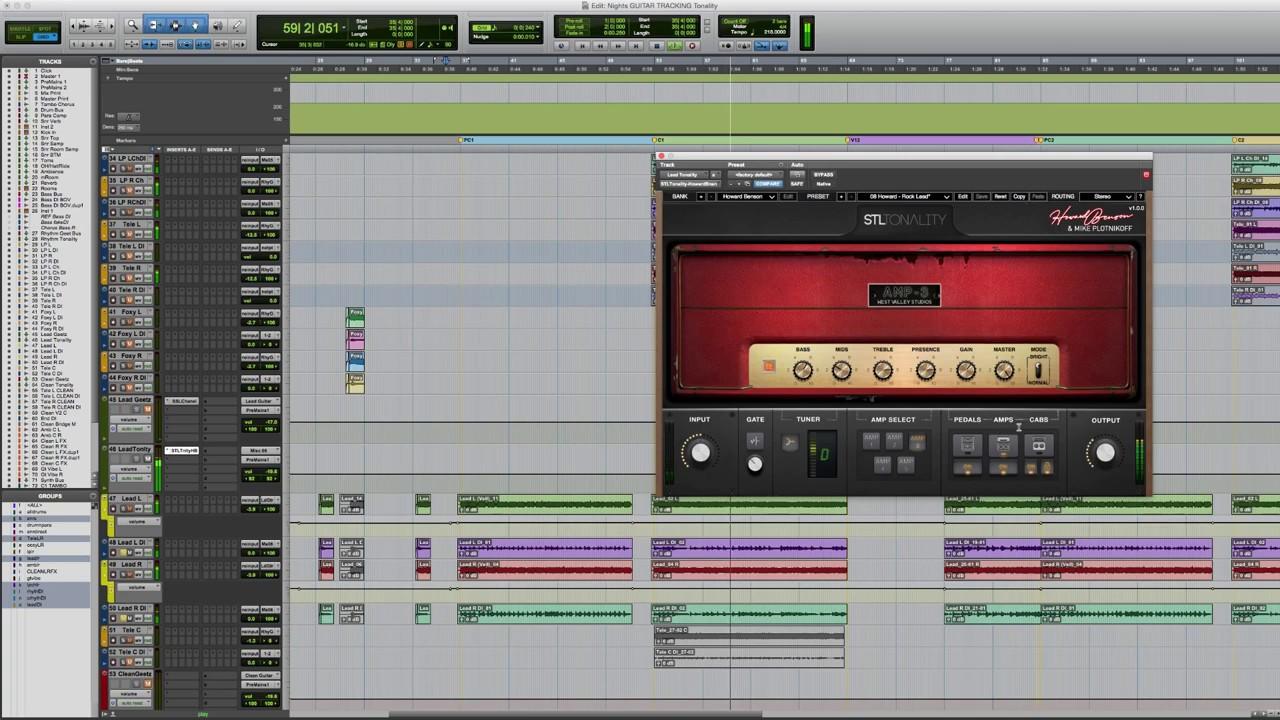 Seb Barlow demo's STL Tonality Plug-In Suite