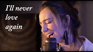 Lady Gaga - I'll never love again (A star is born) Cover by Rebeca Monroy
