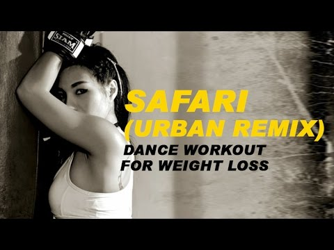 Safari (URBAN REMIX) - ZUMBA COVER | Zumba® | Dance Workout For Weight loss | Michelle Vo