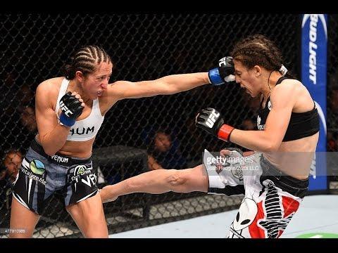 Joanna Jedrzejczyk vs Jessica Penne FULL FIGHT