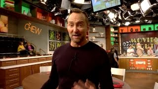 From The Chew: A Day in the Life of Clinton Kelly