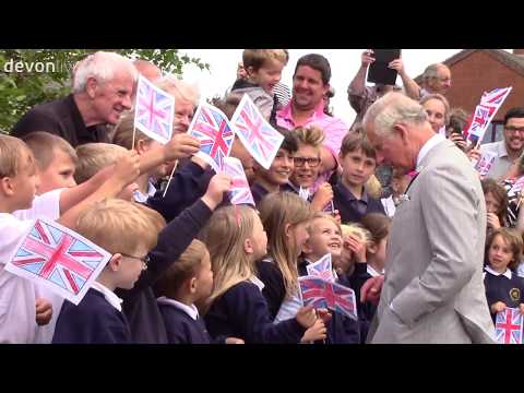 HRH Prince Charles Official Opens Devon Federation of Young Farmers' Club's Headquarters