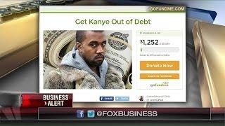 Kanye Fans Start GoFundMe Campaign to Pay Off Rapper's '$53M Debt'