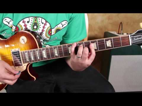 Blues Guitar Lessons - Style Of Jesus Left Chicago - ZZ Top Inspired - Blues Rock Guitar Lesson