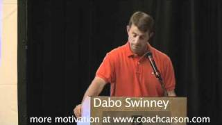 "Dabo Swinney Motivation - ""Ducks Quack and Eagles Soar"" - CoachCarson.com"