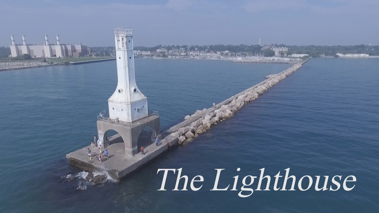 The Lighthouse Dramatic Aerial Cinematography - YouTube