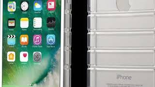 Coque iPhone 8 et iPhone 7 silicone transparent anti chocs