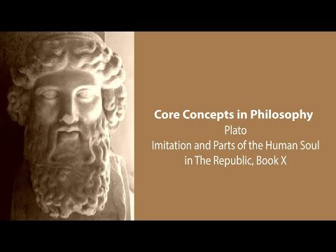 Plato on Imitation and Parts of the Human Soul (Republic bk. 10) - Philosophy Core Concepts