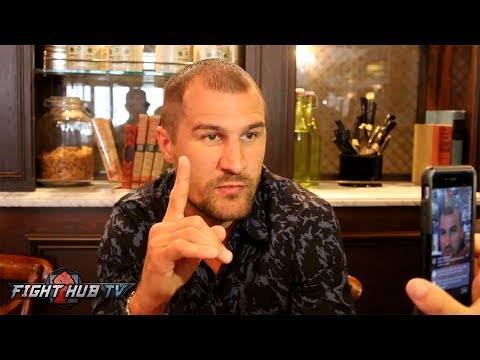 Sergey Kovalev FEELS NO OPTION BUT TO FINISH ANDRE WARD