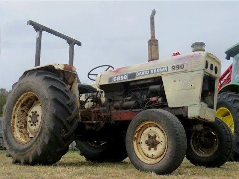 Old-school David Brown Tractor 990 Selectamatic Review | Farms & Farm Machinery