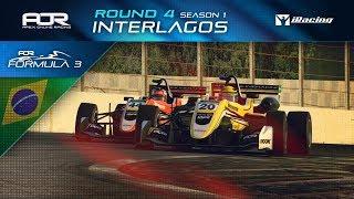 iRacing | AOR Formula 3 Championship | S1 | R4: Interlagos